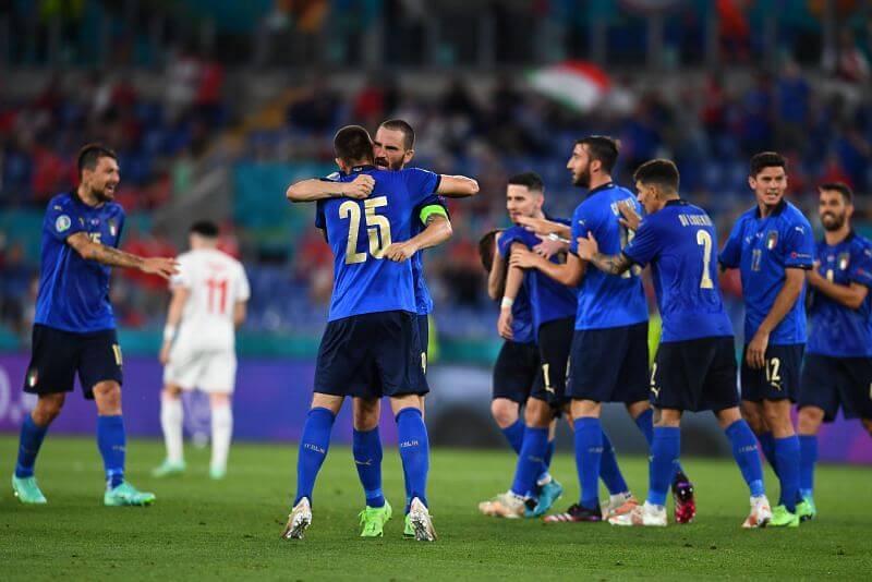 Italy vs Wales Totalsportek, Euro 2020 - Football Marks